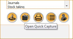 New Quick Capture feature available