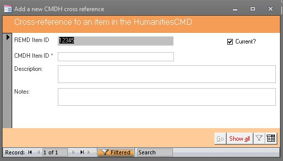 Click the image for a view of: Cross-referencing other Logos Flow database products (HumanitiesCMD for example)